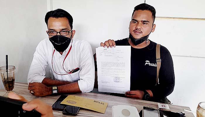 Polres Lhokseumawe proses laporan Raja Radar terhadap pihak Suzuya Mall.
