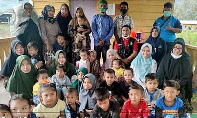 """Loka Anak """"Darussa'adah"""" di Aceh lakukan Outreach di KAT Sikundo."""
