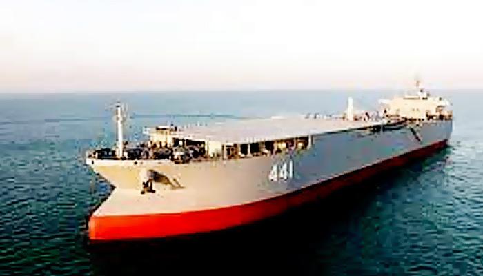 Kapal Perang Raksasa Iran diduga angkut 7 Kapal Cepat Rudal untuk Venezuela.