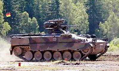 Angkatan Darat Jerman memperpanjang masa pakai IFV Marder 1A3 dan 1A5.