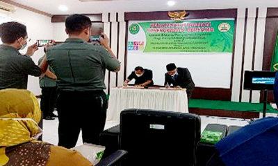 MoU peningkatan pelayanan bagi disabilitas SLBN pembina Aceh Tamiang.