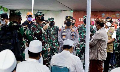 Panglima TNI minta awasi tempat umum di Bangkalan.