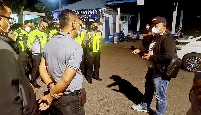 Tangani kasus Mara Salem Harahap, Kapolres Simalungun turun langsung ke TKP.
