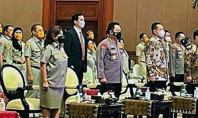 Kapolri kukuhkan Pimpinan Pusat KBPP Polri.