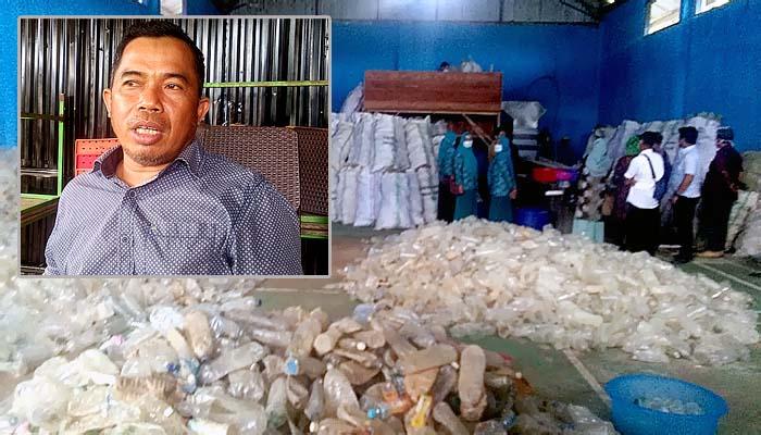 Aktivis lingkungan hidup apresiasi Bank Sampah di Nunukan Selatan/Foto: Suasana Bank Sampah Karya Bersama, Kelurahan Tanjung Harapan, Nunukan Selatan.