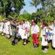 Kerahkan anggota untuk jadi tenaga pendidik di perbatasan Indonesia-Papua Nugini.
