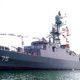 Angkatan Laut Iran terima fregat kelas Jamaran keempat buatan lokal.