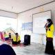 Sosialisasi inovasi jamban sehat mahasiswa Teknik Sipil UTU di Desa Ujong Tanoh Darat.