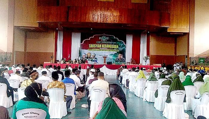 Perkuat nasionalisme di perbatasan, PCNU Nunukan gelar tausiyah kebangsaan.