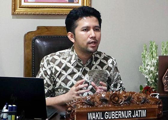 Evaluasi PPKM Madiun Raya, Wagub Emil Dardak dorong konversi tempat tidur rumah sakit.