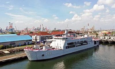 TNI AL terima LST ketiga Kelas Teluk Bintuni.