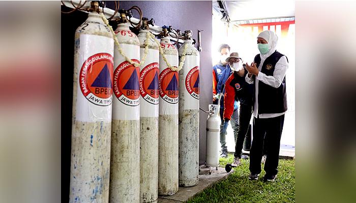 Resmikan Stasiun Pengisian Oksigen Gratis Di Malang Raya, Siadi: Apresiasi Gubernur Khofifah