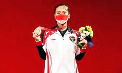 Windy Cantika Atlet Putri Peraih Medali Pertama Bagi Indonesia di Olimpiade Tokyo