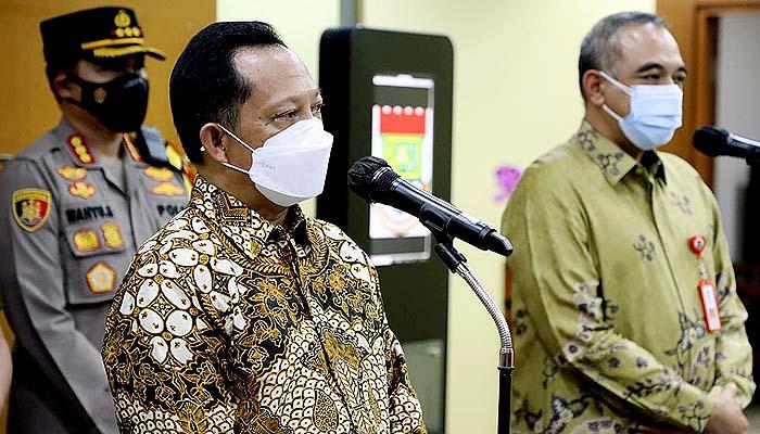 Mendagri Apresiasi Kekompakan Bupati Tangerang dan Forkopimda dalam Hadapi Pandemi Covid-19
