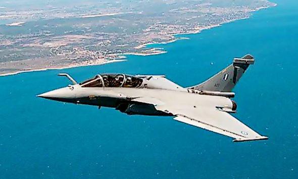 Yunani Terima Jet Tempur Rafale Pertama dari Prancis