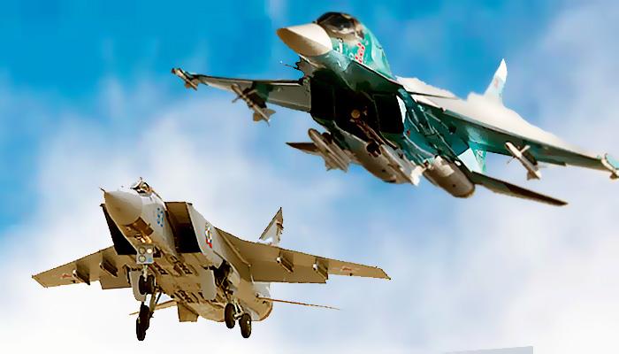 Respon situasi Afghanistan, Rusia siapkan armada Su-34M dan MiG-31BM.