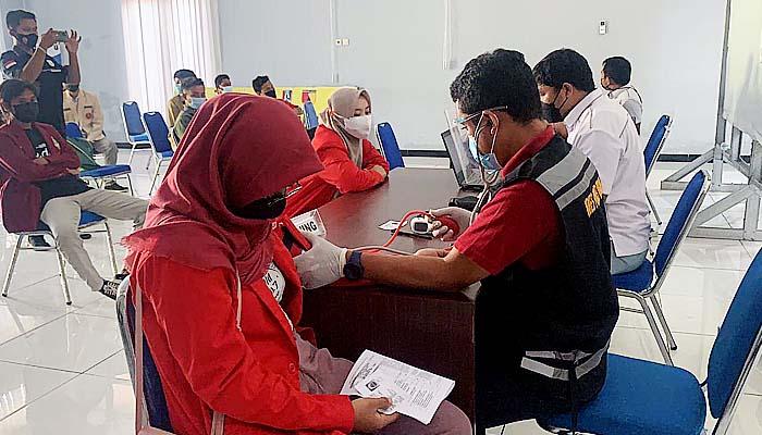 Percepat vaksinasi, Polres Tuban undang elemen mahasiswa dan ormas untuk vaksin.