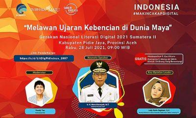Kominfo akan adakan Webinar Literasi Pidie Jaya.