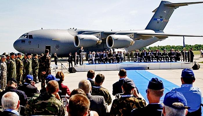 AS-NATO akuisisi dua pangkalan udara Hongaria.