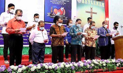 MUKI Sumut Jadi Tuan Rumah Deklarasi Organisasi Kristen