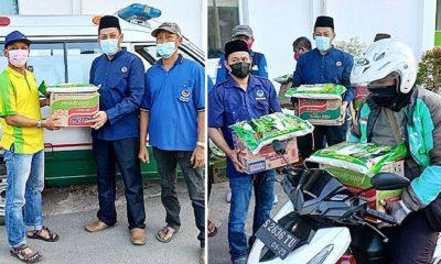 Sasar nakes dan ojol, Nasdem Kabupaten Mojokerto kirim 5000 bantuan kemanusiaan.