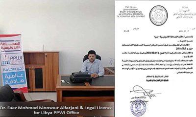 Perwakilan PPWI di Libya Resmi Terdaftar di Kemenlu dan Kerjasama Internasional Libya