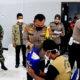 Peringati Hari Jadi Ke-66, Polantas Polres Tuban Gelar Vaksinasi Bagi Tuna Wisma