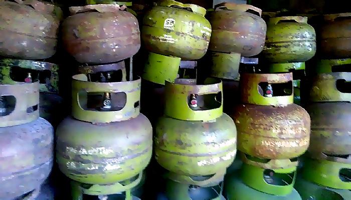 Masyarakat Sekatak Keluhkan Isi Gas Epiji Bersubsidi