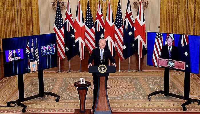 Amerika Serikat, Inggris, dan Australia Luncurkan Pakta Keamanan Baru