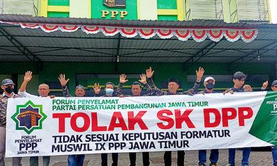 Tolak Penunjukan Ketua PPP Jatim Oleh DPP, Forum Penyelamat PPP Jatim Gelar Aksi