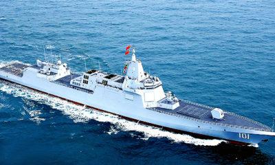 Armada Kapal Perang Cina Kembali Berlayar di ZEE Amerika
