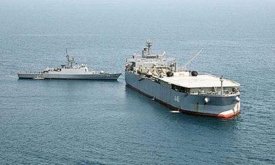 Armada ke-75 Angkatan Laut Iran Kembali ke Tanah Air