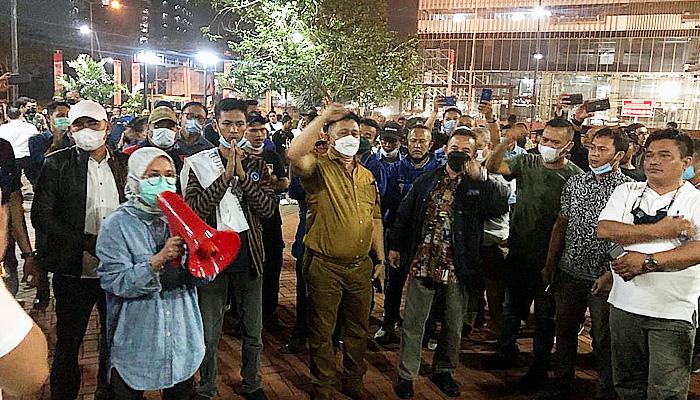 Kader Demokrat Bubarkan Acara Ilegal, Iti Jayabaya: Ini Banten, Bung! Pendukung Moeldoko Jangan Main-main Dengan Demokrat!