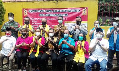 MAKIN Lithang Bhakri Pondok Cabe Gelar Vaksinasi Dosis 2