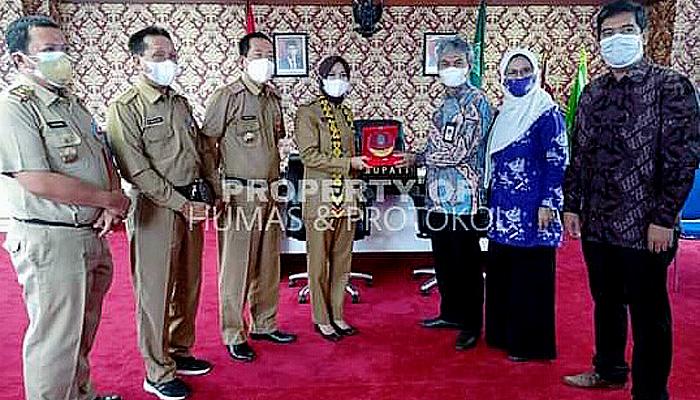 Jajaki Kerjasama, Politeknik ATI Makassar Temui Bupati Nunukan