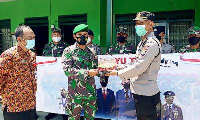 HUT TNI 76 untuk Solidaritas Percepatan Vaksinasi