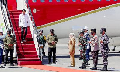 Forkompimda Jatim Dampingi Presiden RI Ground Breaking Pembangunan Smelter PT. Freeport Indonesia