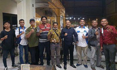 Silaturahmi Anggota DPD Aceh Fachrul Rozi dengan PPWI DPD Sumut di Kota Medan