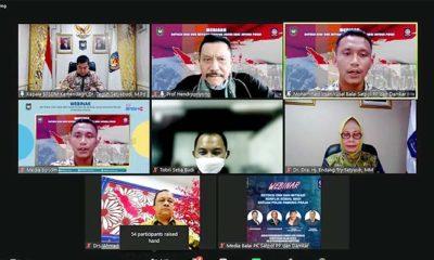 Ribuan Satpol PP Ikuti Seminar Online Deteksi Dini dan Mitigasi Konflik Sosial